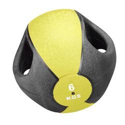 6,0 KG Trendy Esfera Ball mit Griff, gelb