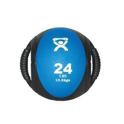 Medizinball mit Doppelgriff blau 10,9 kg