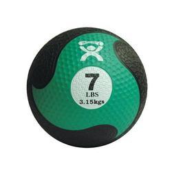 Medizinball aus Gummi 3,15kg grün