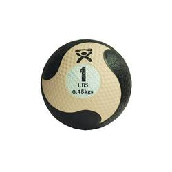 Medizinball aus Gummi beige 0,45 kg