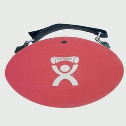 Gewichtsgreifball mit Gurt rot 1,4kg