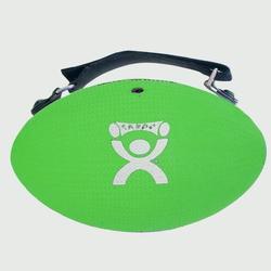 Gewichtsgreifball mit Gurt grün 1,8kg