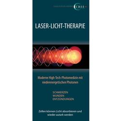 Flyer Lasertherapie Human LT, DE