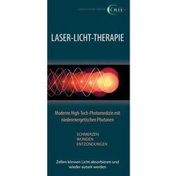 Flyer Lasertherapie Human deutsch 50Stck.