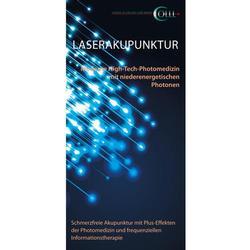 Flyer Laserakupunktur Mensch