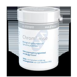 Chrom III mse, 0,05mg,120 Tbl. gebunden in Spirulina, Nahrungsergaenzung