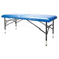 Massageliege 3B Aluminium, blau